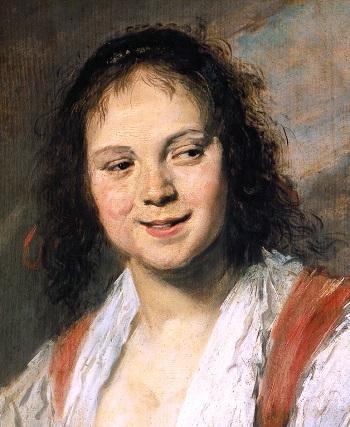 Frans Hals Gypsy Girl 1665