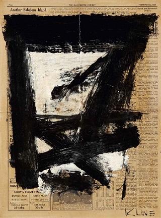Franz Kline Untitled 1954