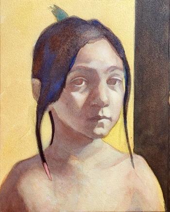 watercolor portrait 5