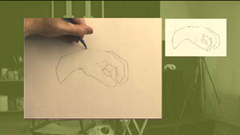Portrait Drawing Lessons | Drawing Hands 3