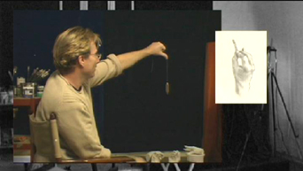 Portrait Drawing Lessons | Drawing Hands 4