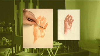Portrait Drawing Lessons | Drawing Hands 5