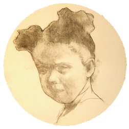 Portrait Drawing Lessons: Children-Tondo-6