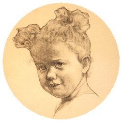 Portrait Drawing Lessons: Children-Tondo-12