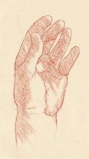 Portrait Drawing Lessons - Hands 7