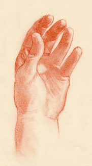 Portrait Drawing Lessons - Hands 9
