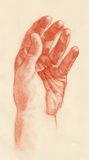 Portrait Drawing Lessons - Hands 10