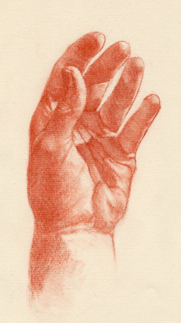 Portrait Drawing Lessons - Hands 11