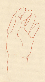 Portrait Drawing Lessons - Hands 6a