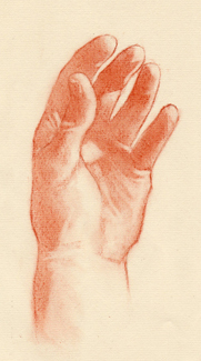 Portrait Drawing Lessons - Hands 8