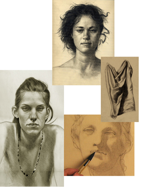 Online portrait drawing lessons