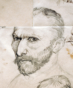 Van gogh portrait drawings