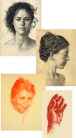 Portrait drawing lessons | The Compleat Studo Collection