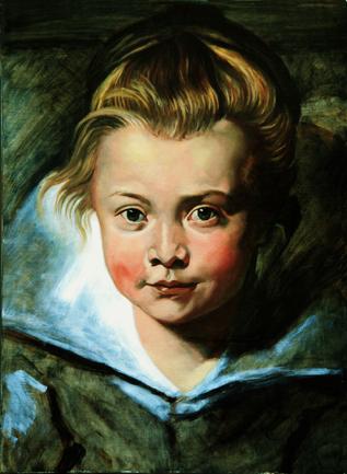 Portrait painting lessons - Clara Serena Rubens