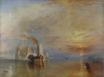 JMW Turner, The Fighting Temeraire, 1839