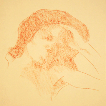 Portrait Drawing Lessons - Blocking In