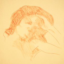 Portrait Drawing Lessons - Verna Block in