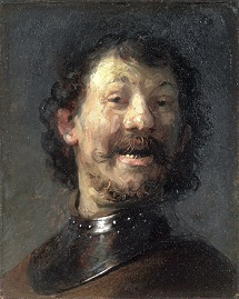 Rembrandt Man Laughing