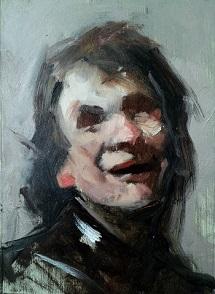 portrait painting pochade thumbnail sketch