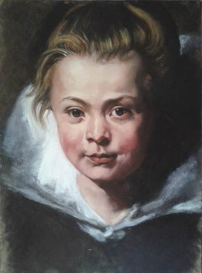 Rubens copy of Clara Serena